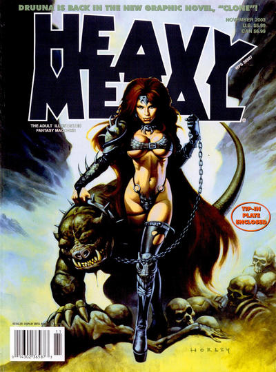 Cover for Heavy Metal Magazine (Heavy Metal, 1977 series) #v27#5