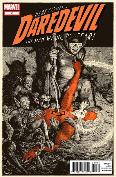 Cover for Daredevil (Marvel, 2011 series) #10