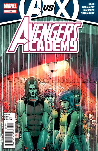 Cover for Avengers Academy (Marvel, 2010 series) #29