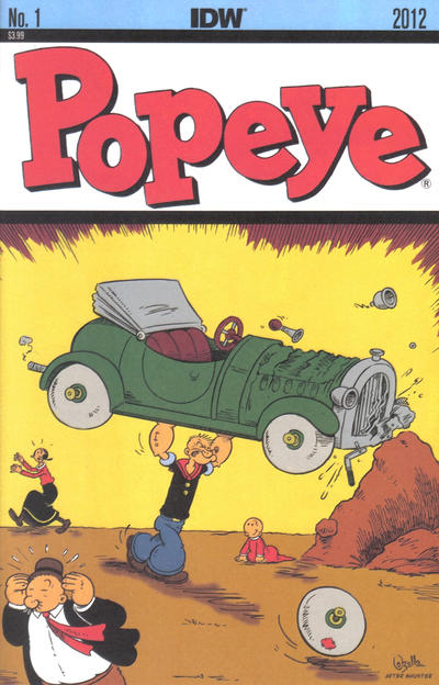 Cover for Popeye (IDW, 2012 series) #1