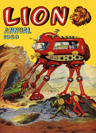 Cover for Lion Annual (Fleetway Publications, 1954 series) #1958