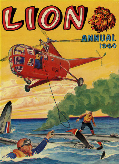 Cover for Lion Annual (Fleetway Publications, 1954 series) #1960