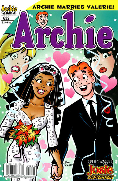 Cover for Archie (Archie, 1959 series) #632