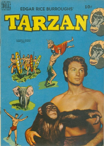Cover for Tarzan (Wilson Publishing, 1949 series) #13