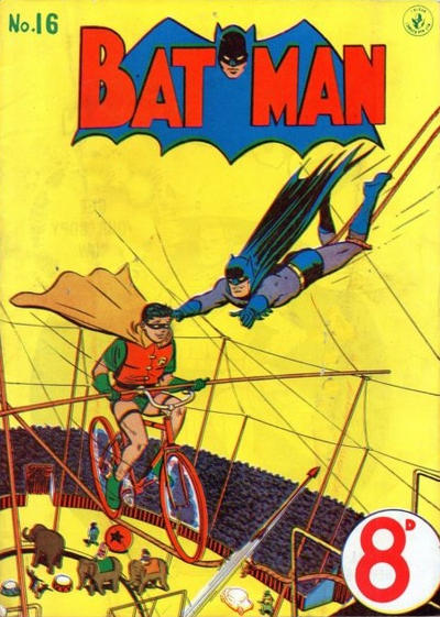 Cover for Batman (K. G. Murray, 1950 series) #16