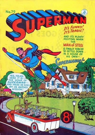 Cover for Superman (K. G. Murray, 1947 series) #79