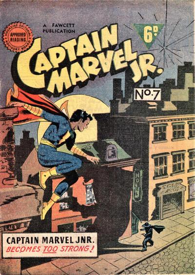 Cover for Captain Marvel Jr. (Cleland, 1947 series) #7