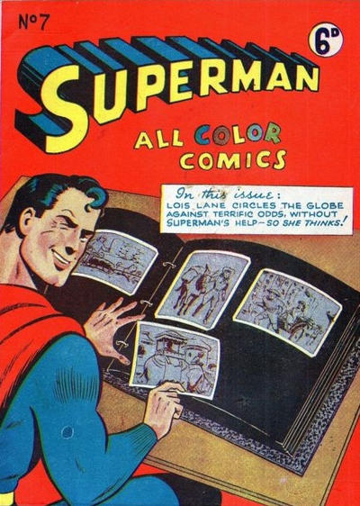 Cover for Superman (K. G. Murray, 1947 series) #7