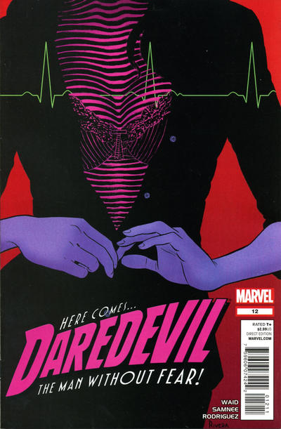 Cover for Daredevil (Marvel, 2011 series) #12