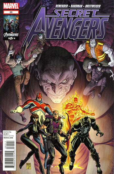 Cover for Secret Avengers (Marvel, 2010 series) #25