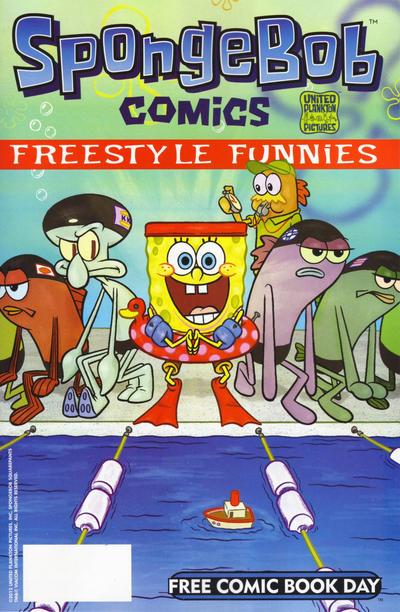 Cover for Bongo Comics / SpongeBob Comics (Bongo, 2012 series) #[nn]