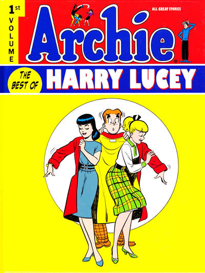 Cover for Archie: The Best of Harry Lucey (IDW, 2011 series) #1