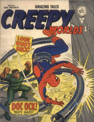 Cover for Creepy Worlds (Alan Class, 1962 series) #103