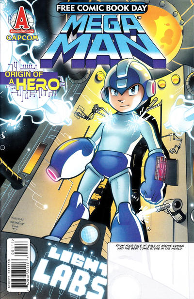Cover for Free Comic Book Day: Mega Man (Archie, 2012 series)