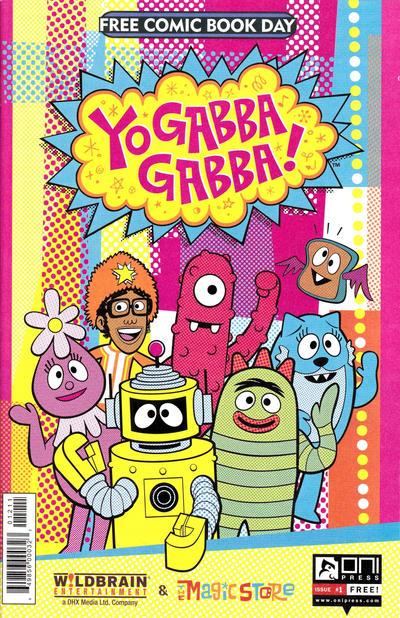Cover for Yo Gabba Gabba! Free Comic Book Day! (Oni Press, 2012 series) #1