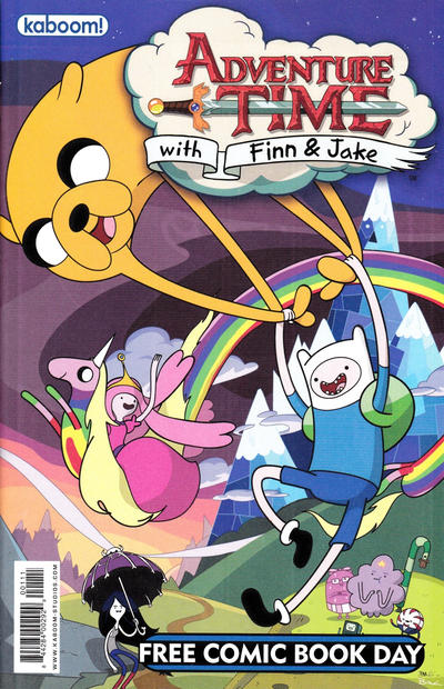 Cover for Adventure Time Free Comic Book Day Edition / Peanuts Free Comic Book Day Edition (Boom! Studios, 2012 series)