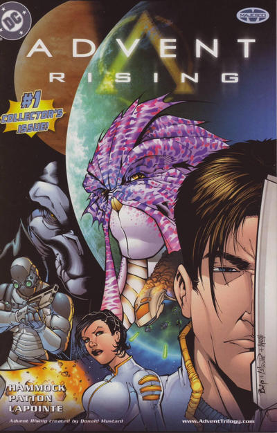 Cover for Advent Rising (DC, 2004 series) #1