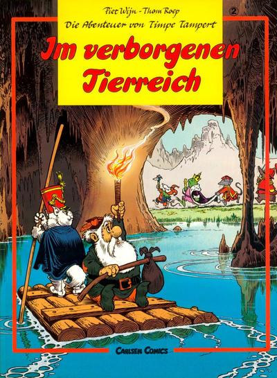 Cover for Die Abenteuer von Timpe Tampert (Carlsen Comics [DE], 1981 series) #2 - Im verborgenen Tierreich
