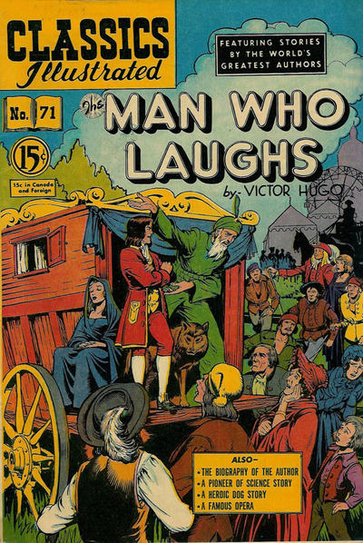 Cover for Classics Illustrated (Gilberton, 1948 series) #71