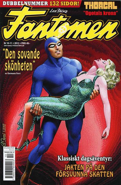 Cover for Fantomen (Egmont, 1997 series) #10-11/2012
