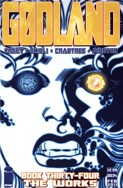 Cover for Godland (Image, 2005 series) #34