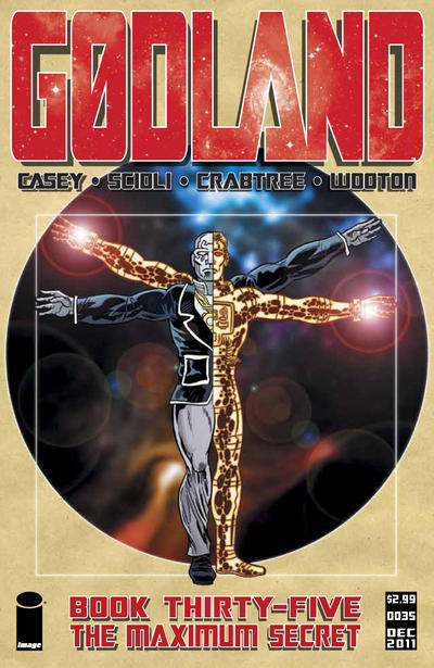 Cover for Godland (Image, 2005 series) #35