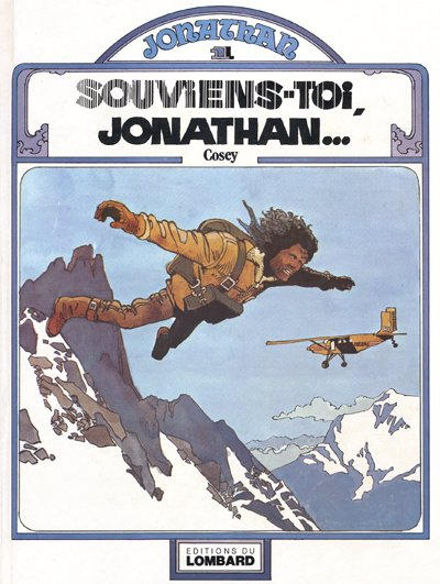 Cover for Jonathan (Le Lombard, 1977 series) #1 - Souviens-toi, Jonathan...