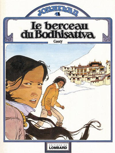 Cover for Jonathan (Le Lombard, 1977 series) #4 - Le berceau du Bodhisattva