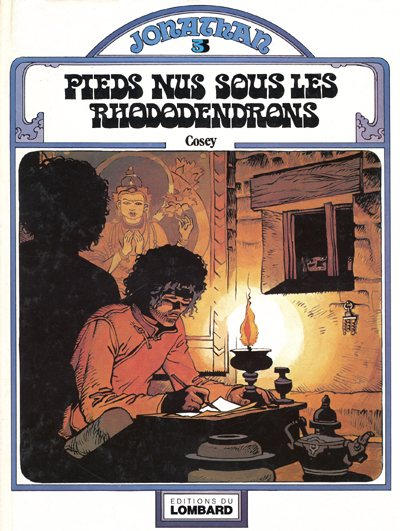Cover for Jonathan (Le Lombard, 1977 series) #3 - Pieds nus sous les rhododendrons