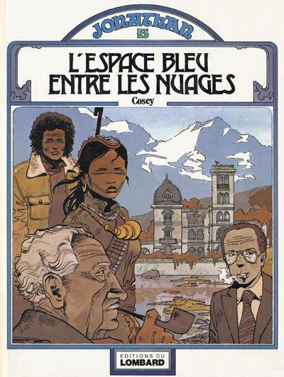 Cover for Jonathan (Le Lombard, 1977 series) #5 - L'espace bleu entre les nuages
