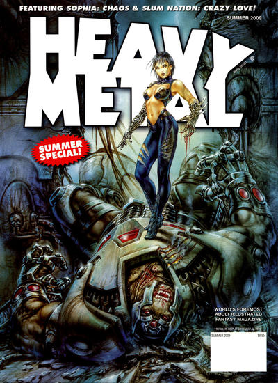 Cover for Heavy Metal Special Editions (Metal Mammoth, Inc., 1992 series) #v23#2 - Summer Special