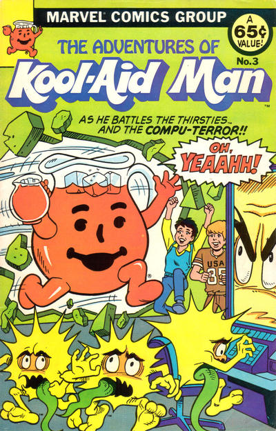 Cover for The Adventures of Kool-Aid Man (Marvel, 1983 series) #3
