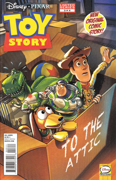 Cover for Toy Story (Marvel, 2012 series) #3