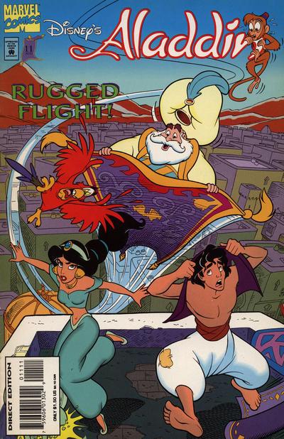 Cover for Disney's Aladdin (Marvel, 1994 series) #11