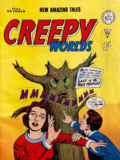 Cover for Creepy Worlds (Alan Class, 1962 series) #56