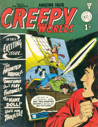 Cover for Creepy Worlds (Alan Class, 1962 series) #79