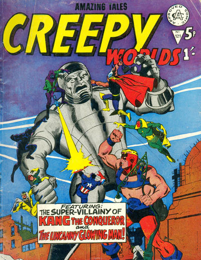 Cover for Creepy Worlds (Alan Class, 1962 series) #121