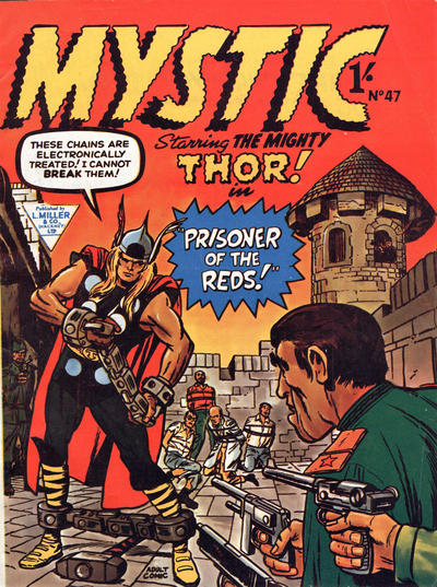 Cover for Mystic (L. Miller & Son, 1960 series) #47