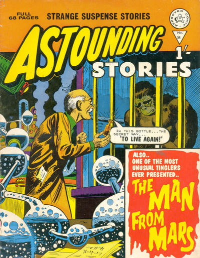 Cover for Astounding Stories (Alan Class, 1966 series) #54