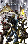 Cover for Jurassic Strike Force 5 (Zenescope Entertainment, 2011 series) #4 [Cover A - Ciao Cacau]