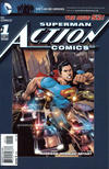 Cover for Action Comics (DC, 2011 series) #1 [Fifth Printing]