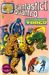 Cover for I Fantastici Quattro (Editoriale Corno, 1971 series) #189