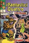 Cover for I Fantastici Quattro (Editoriale Corno, 1971 series) #63