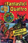 Cover for I Fantastici Quattro (Editoriale Corno, 1971 series) #148