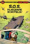 Cover for Buck Danny (Dupuis, 1949 series) #20 - S.O.S. vliegende schotels! [Eerste druk 1959]