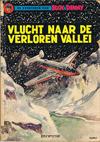 Cover Thumbnail for Buck Danny (1949 series) #23 - Vlucht naar de verloren vallei [Herdruk 1966]