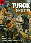Cover for Turok, Son of Stone (Dell, 1956 series) #12 [15-Cent Cover Price Variant]
