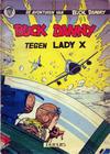 Cover for Buck Danny (Dupuis, 1949 series) #17 - Tegen Lady X [Eerste druk 1958]