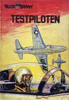 Cover for Buck Danny (Dupuis, 1949 series) #10 - Testpiloten [Eerste druk 1953]