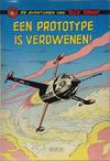 Cover for Buck Danny (Dupuis, 1949 series) #21 - Een prototype in verdwenen! [Herdruk 1960]